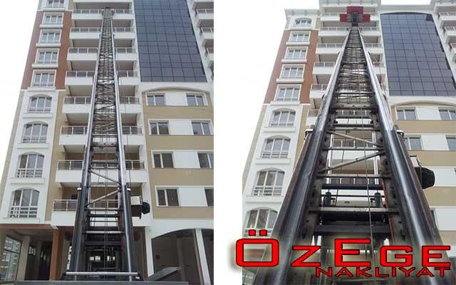 evden eve firmalarına kiralık asansör